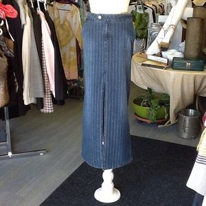 Rock & Republic Long Denim Skirt